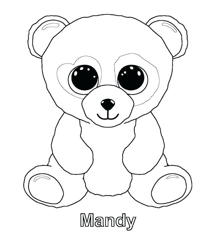 736x806 Coloring Pages Panda Panda Bear Coloring Page Free Printable