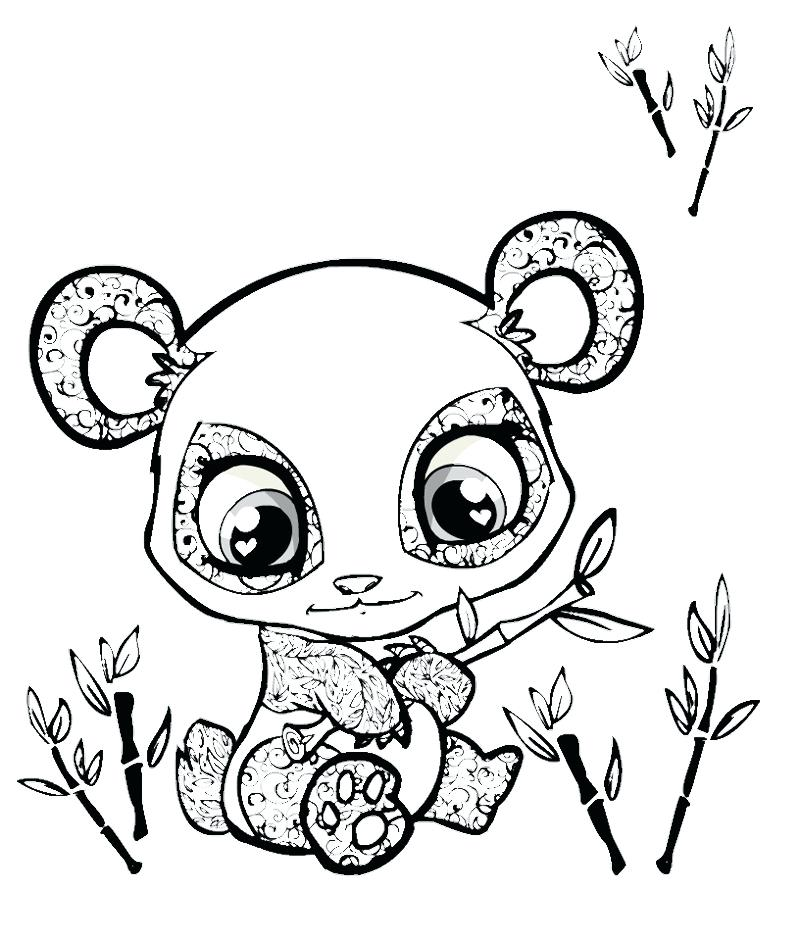 800x943 Coloring Pages Of Pandas