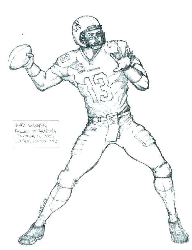 618x803 Football Player Coloring Book Pages Football Player Coloring Page