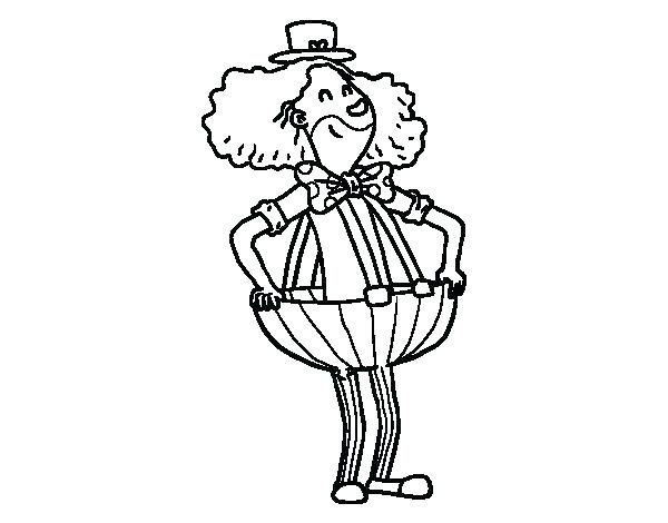600x470 Pants Coloring Page Coloring Sheet Coloring Pants Clown In Baggy