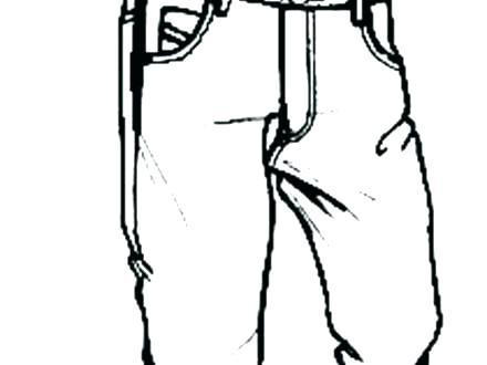440x330 Pants Coloring Page Sponge Bob Square Pants Coloring Pages