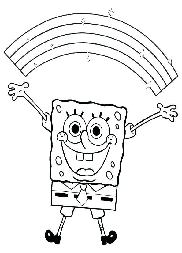 595x826 Sponge Bob Square Pants Coloring Pictures Slim Fit Slim Fit Pants