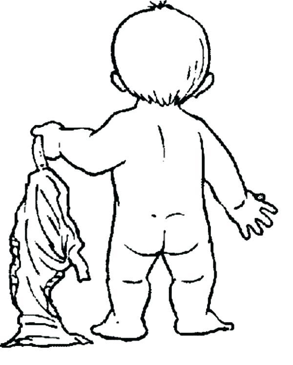 600x748 Coloring Pants Pants Coloring Page Pants Coloring Page Babies Take