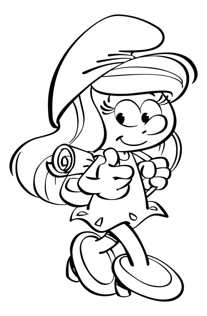 Papa Smurf Coloring Pages at GetDrawings.com | Free for personal use ...