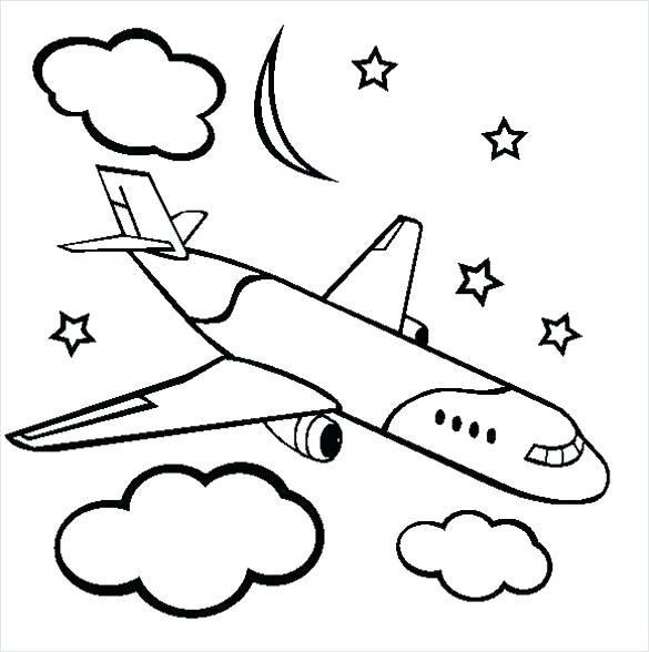 585x588 Airplanes Coloring Pages Airplane Coloring Sheets Planes Coloring