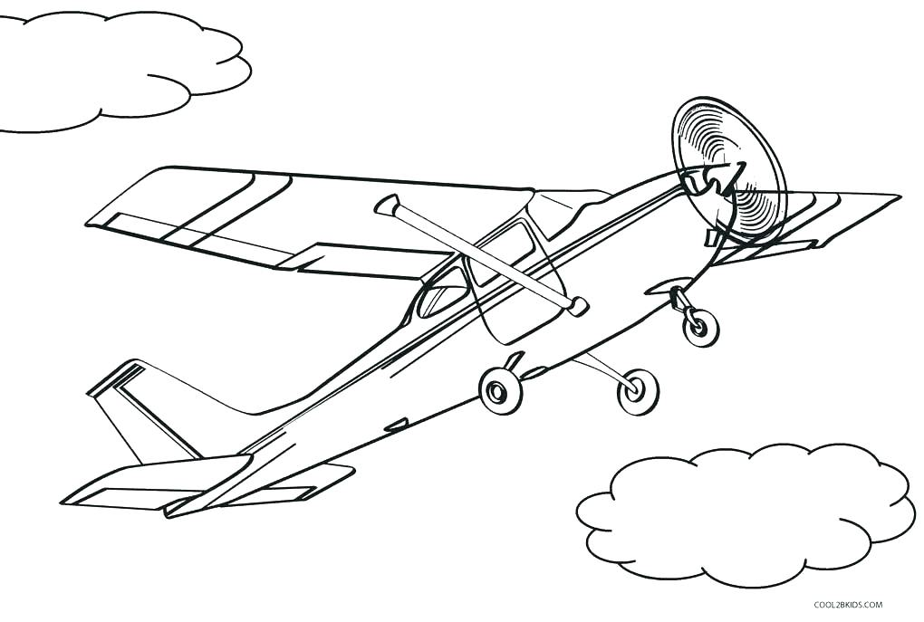 1020x687 Airplanes Coloring Pages Airplane Coloring Book For Kids Airplane