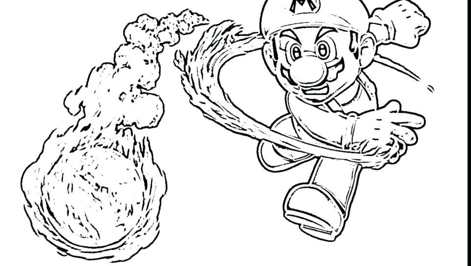 960x544 Bowser Coloring Pages For Your Toddler Super Dry Free Cartoons Jr