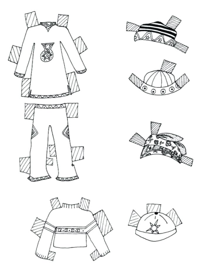 693x900 Paper Doll Coloring Page Coloring Pages Paper Clothes For Young