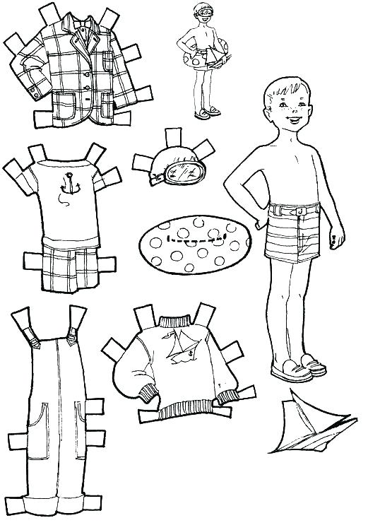 521x750 Paper Doll Coloring Pages Paper Doll Coloring Page Amazing Paper