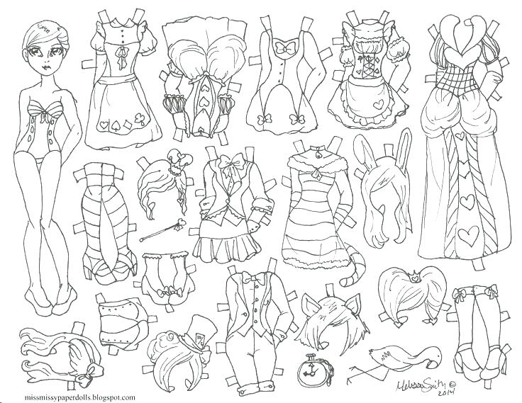 736x569 Paper Doll Coloring Pages Paper Doll Coloring Page Paper Doll