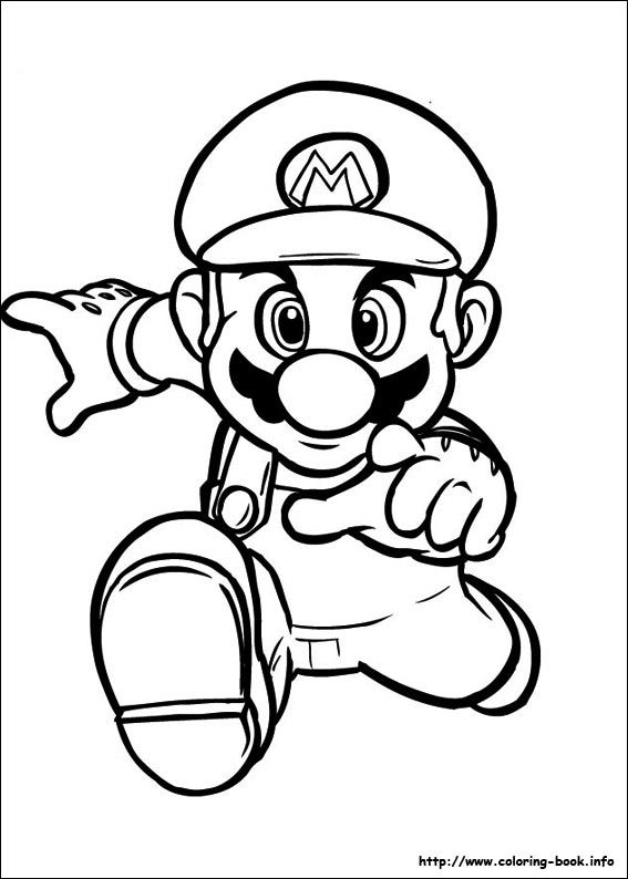 Paper Mario Sticker Star Coloring Pages