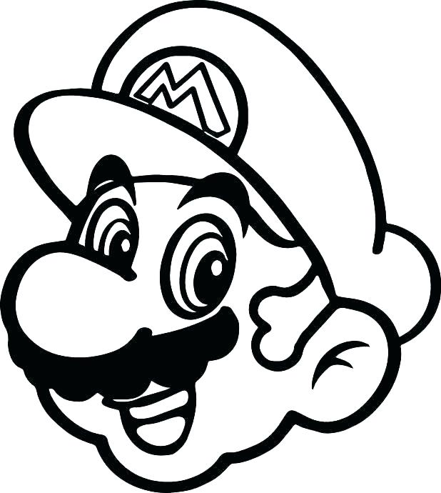 618x690 Paper Mario Coloring Page Back To Post Paper Mario Coloring