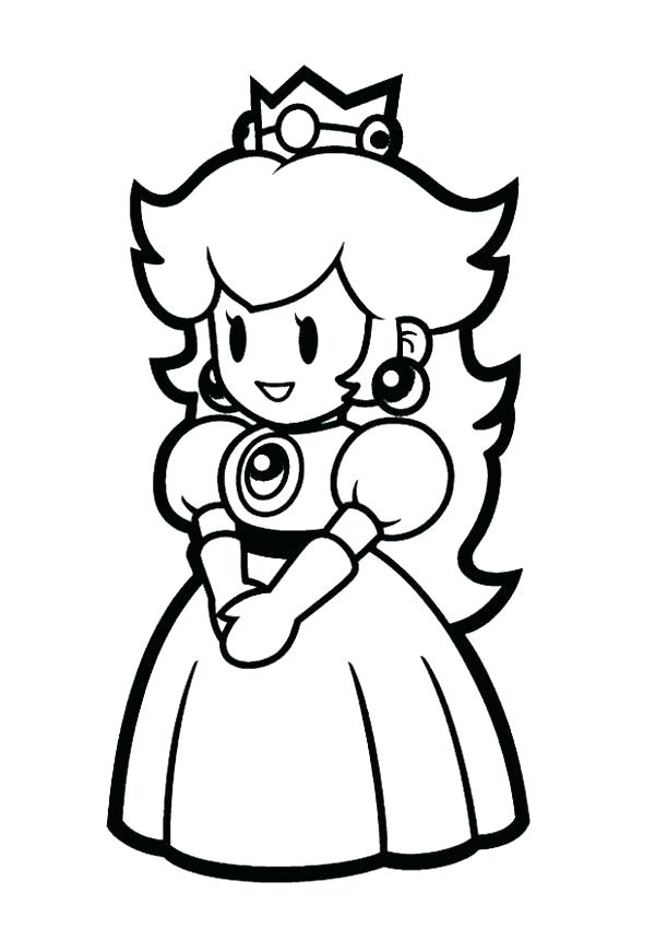 600x850 Paper Mario Sticker Star Coloring Pages Coloring Pages For Kids