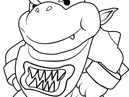 440x330 Paper Mario Sticker Star Coloring Pages Paper Sticker Star