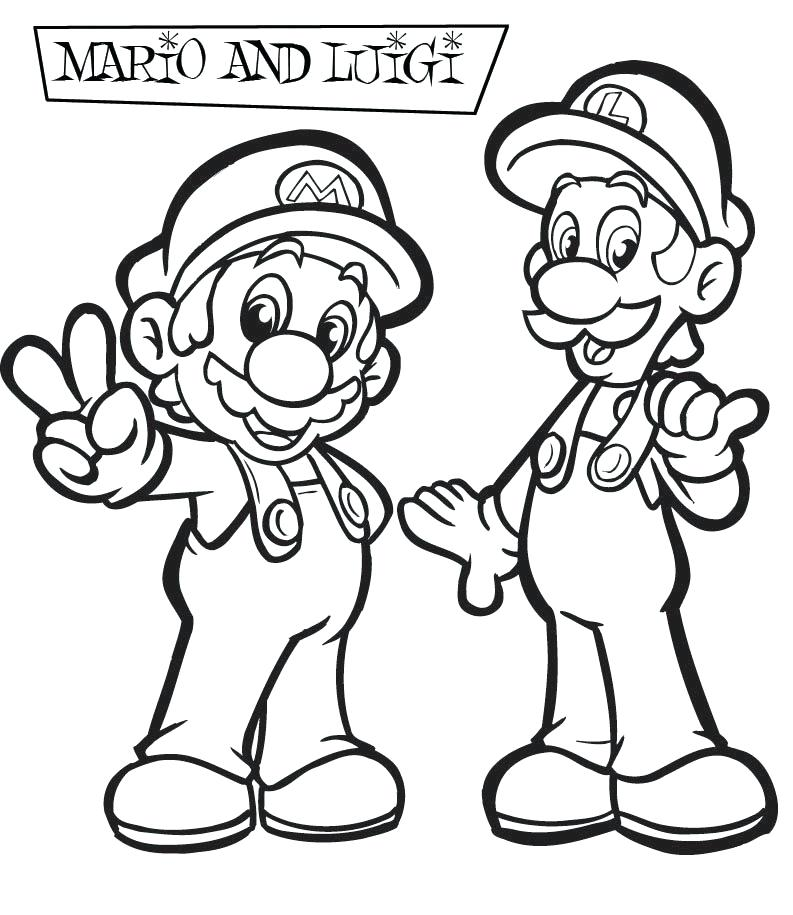 793x915 Inspiring Super Brothers Coloring Pages For Your Download