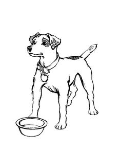 236x305 Dog Coloring Pages