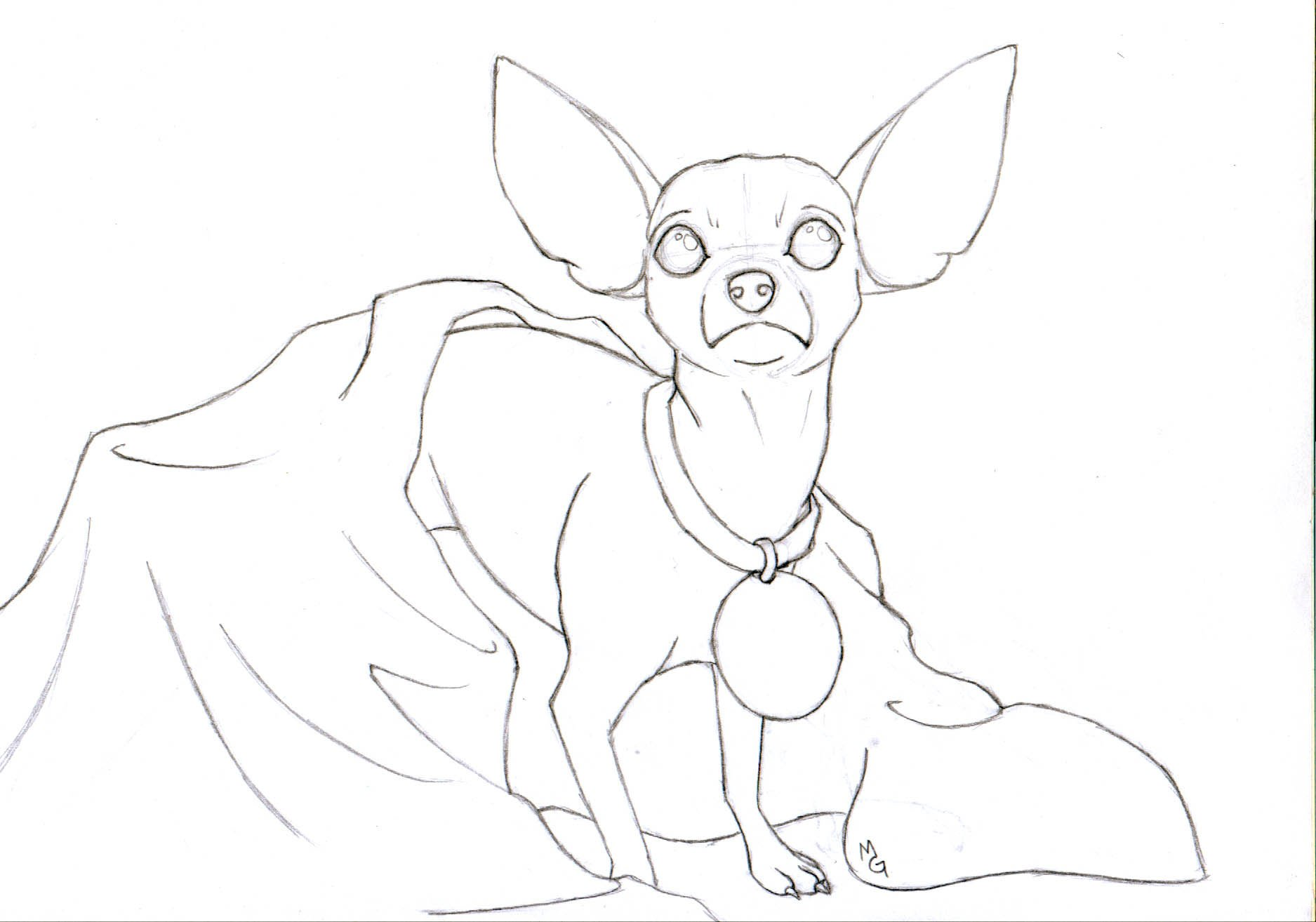 1875x1314 Fancy Ideas Chihuahua Coloring Pages Papillon Page Free Printable