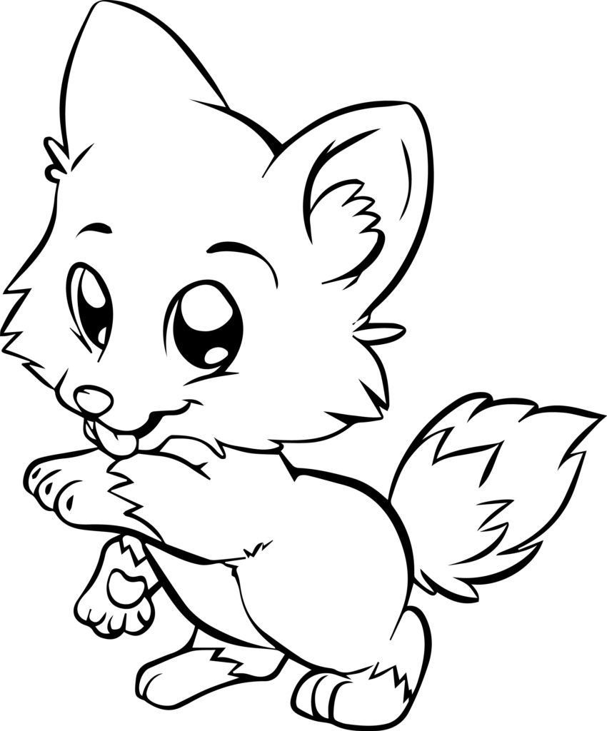 850x1024 Finest Blerapy Dog Cute Coloring Page Mcoloring Pages To Print Out