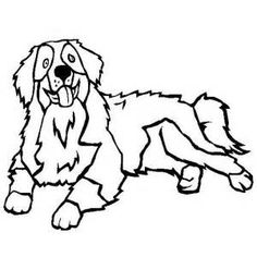 236x236 Dog Color Pages Printable Mountain Dog Coloring Page Free