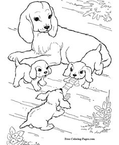 236x288 Dog Coloring Pages
