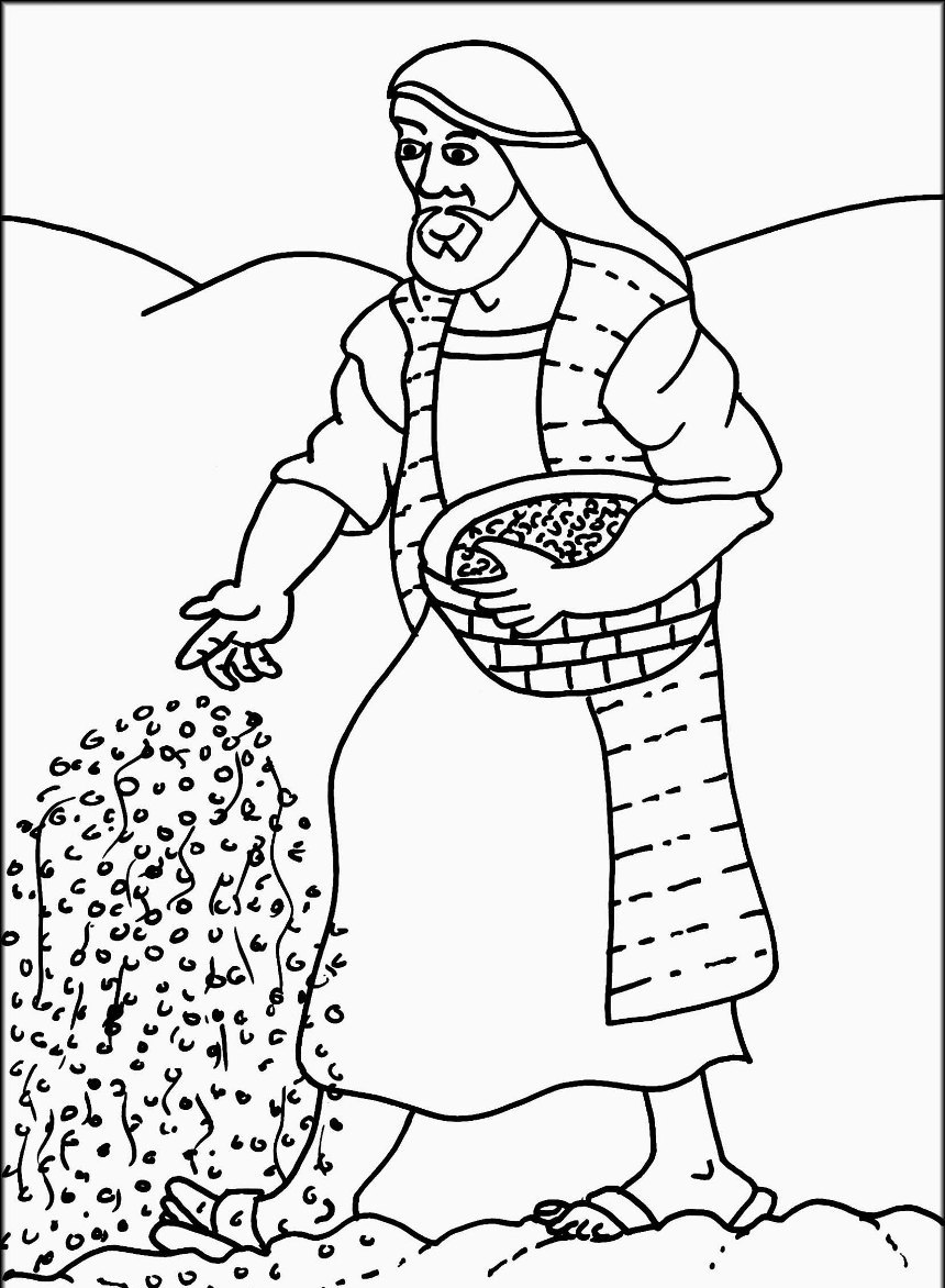 860x1172 Mustard Seed Parable Coloring Page Newyork