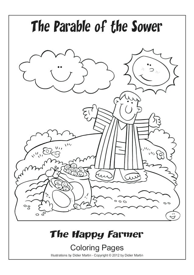 parable coloring pages 17