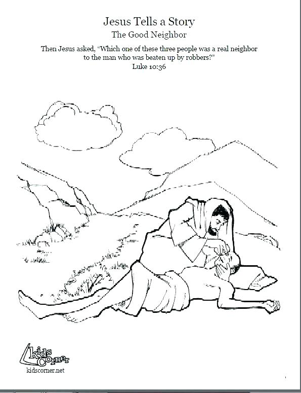 595x775 Parable Of The Unforgiving Servant Coloring Page Free Printable