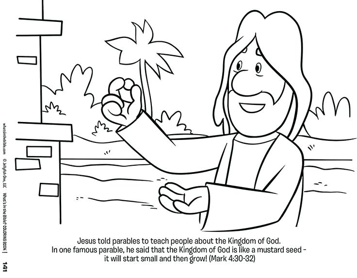 736x572 Parables Of Coloring Pages Parable Of The Sower Workers