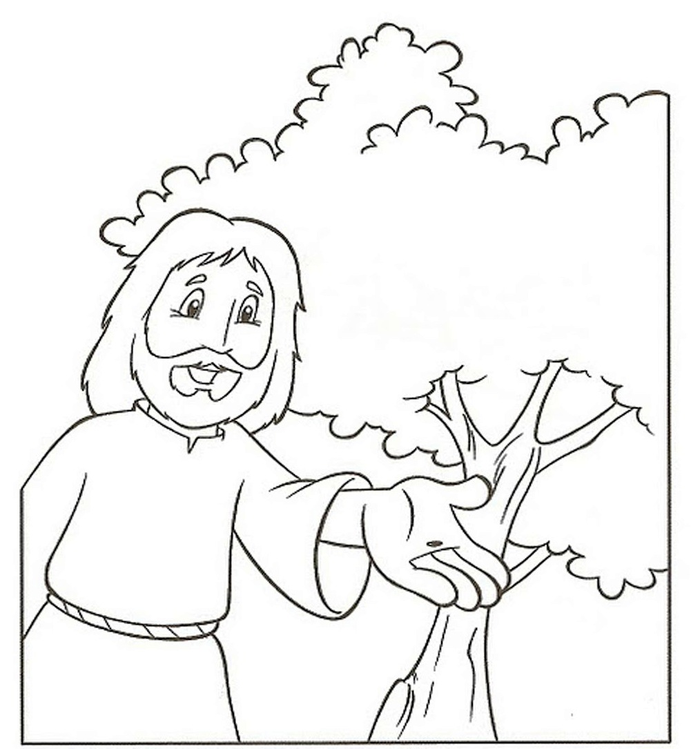1001x1085 Delighted Mustard Seed Coloring Page