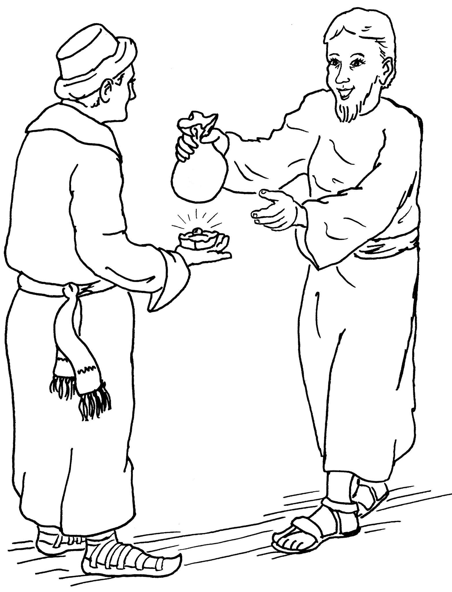 1563x2048 Parables Of The Pearl And Hidden Treasure Coloring Pages