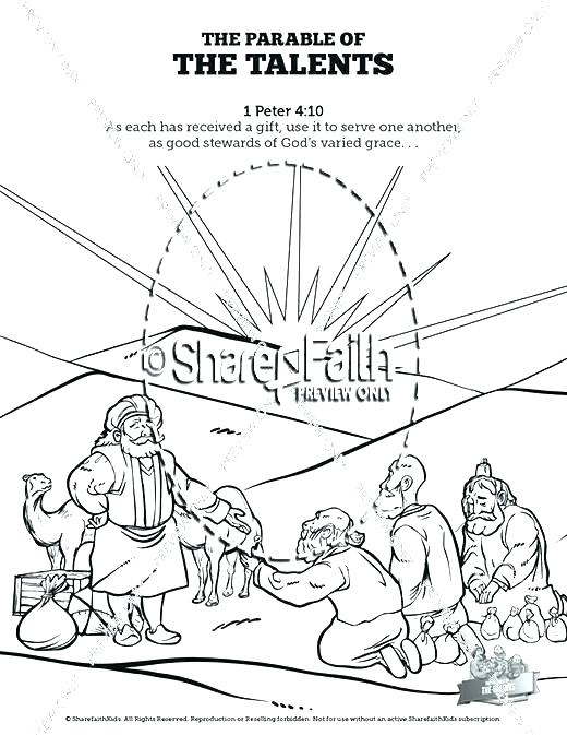 520x673 Parable Coloring Pages Grandmaman Site