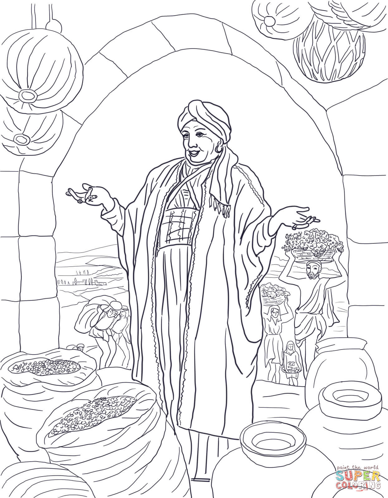 1245x1600 Love Rich Man And Lazarus Coloring Page Parable Of The Fool Free