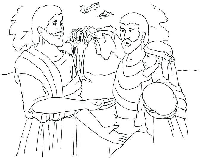 672x533 Sower And Seed Parable Coloring Page Parables Of Pages Mustard