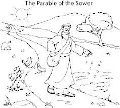 Parable Of The Sower Coloring Page At Getdrawings Com Free For