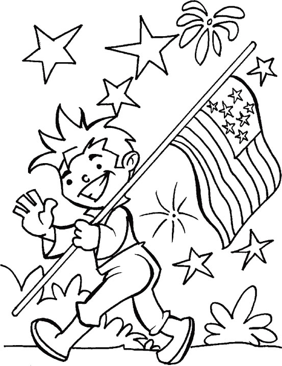 Parade Coloring Pages