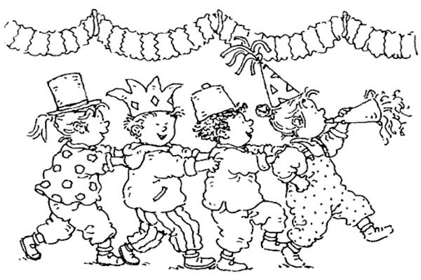 600x399 Dagmar Stam Walking In Parade Coloring Pages Batch Coloring
