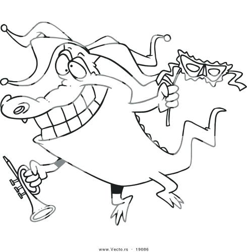 490x500 Mardi Gras Coloring Pages Free Printable The Kids Happy Parade