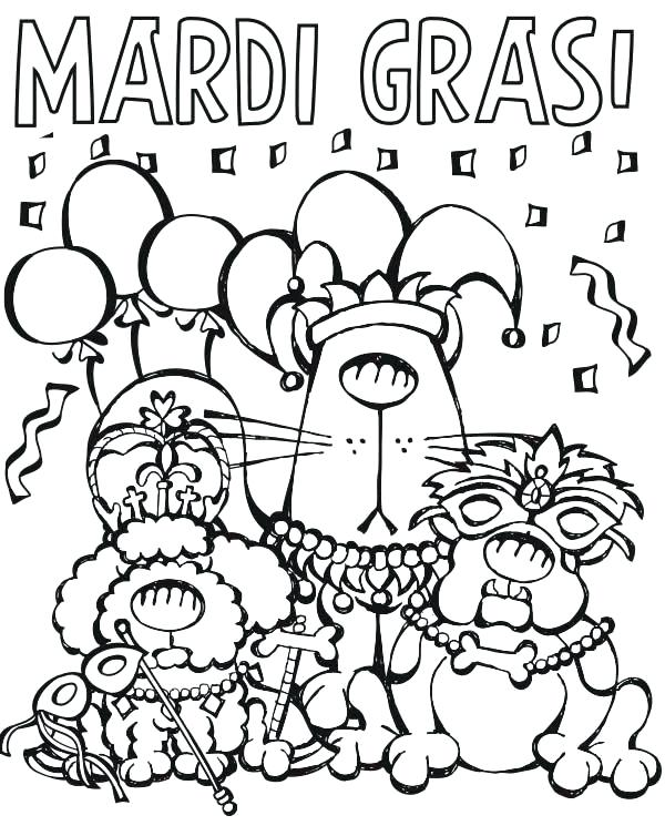 600x754 Mardi Gras Coloring Pictures Cartoon Characters Parade On Coloring