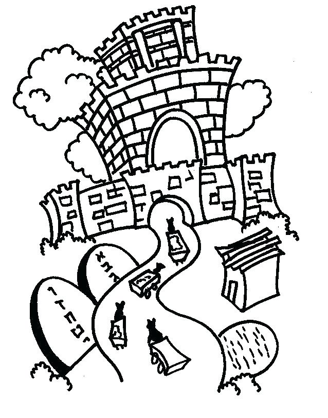 638x813 Passover Coloring Page Tots Coloring Pages Tots On Parade Coloring