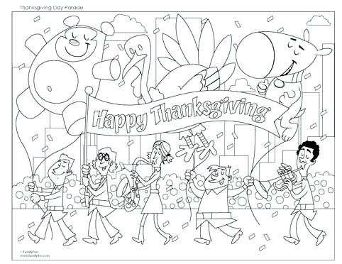 482x372 Thanksgiving Day Coloring Pages Happy Thanksgiving Coloring Page