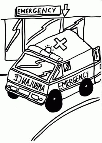 Free Ambulance Coloring Page, Download Free Clip Art, Free Clip Art on  Clipart Library | 473x337