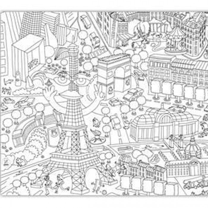 700x700 Free Printable Paris Coloring Pages