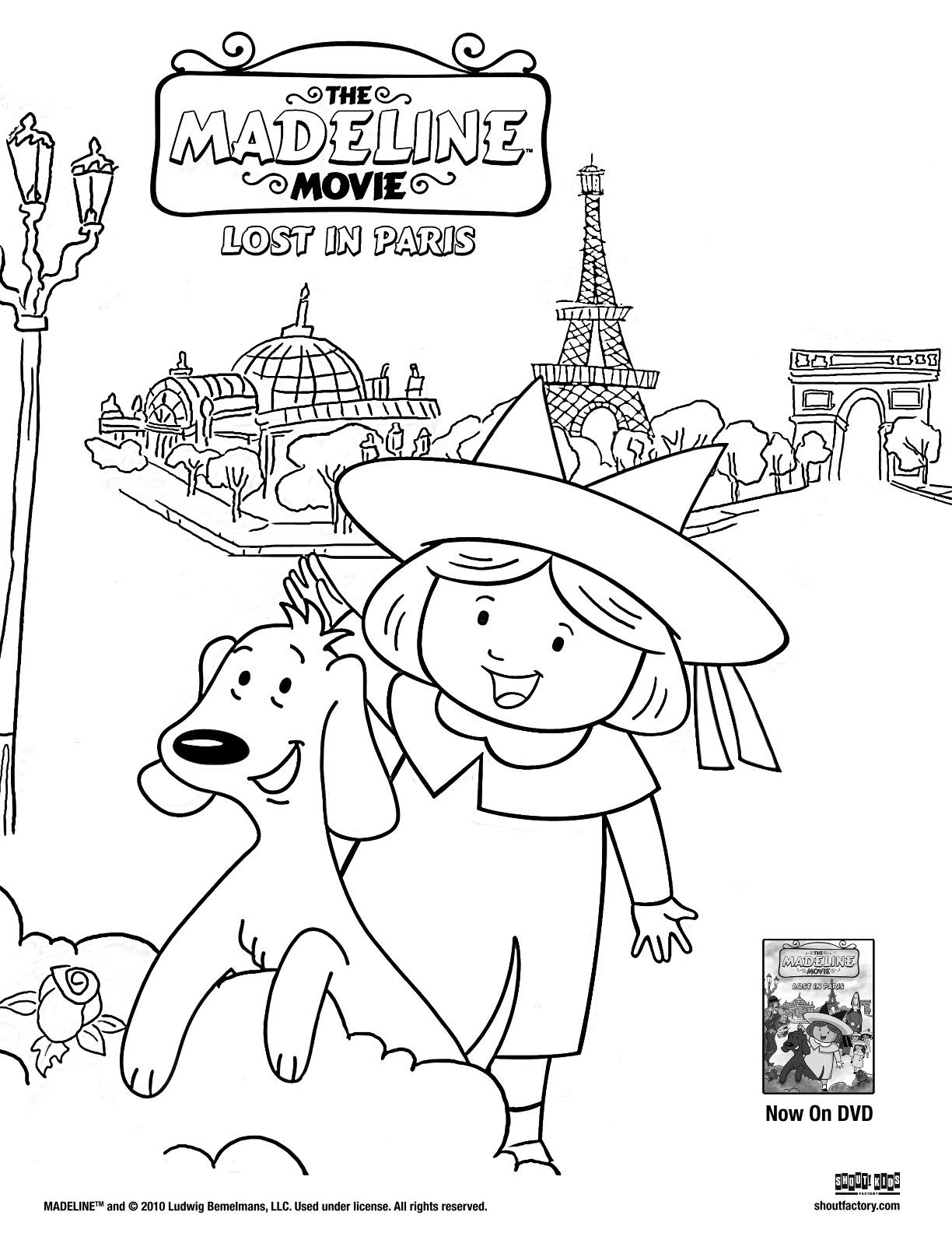 1224x1584 Madeline Coloring Pages, Madeline Colouring Pages
