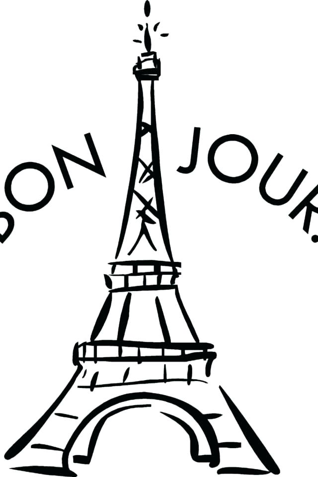640x960 Eiffel Tower Coloring Page Tower Coloring Pages Holiday Coloring