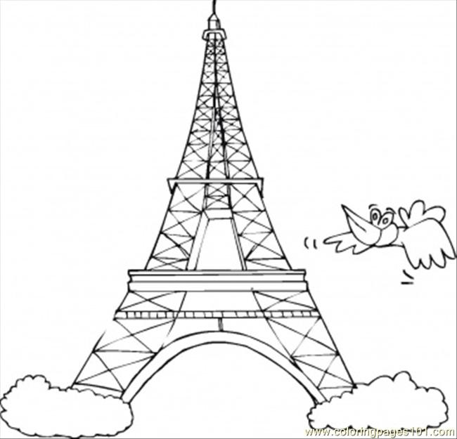 650x625 France Coloring Pages