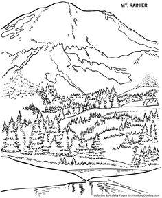 236x288 Landscape Coloring Page