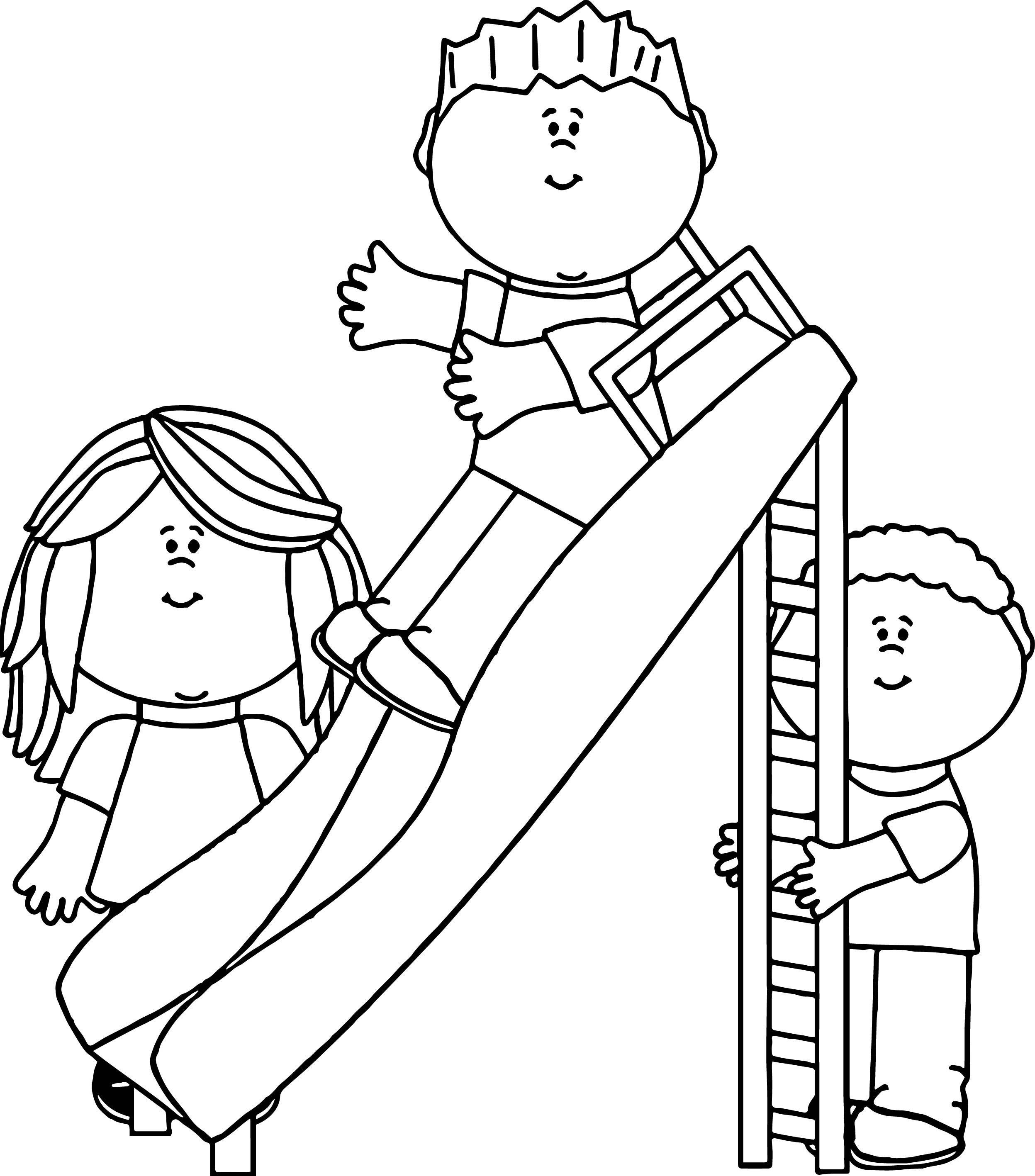 2495x2835 Coloring Page Amusement Park Picgifs Com