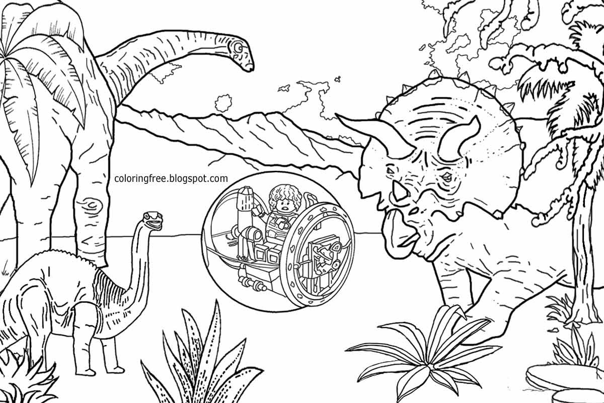 1200x800 Jurassic Park Coloring Pages Printable Coloring For Kids