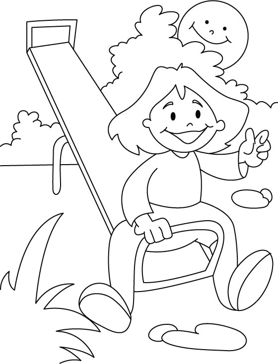 560x734 Park Coloring Pages Submited Images, Park Colouring Picture