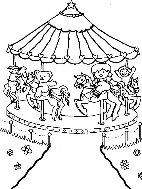 500x664 Picture Miscellaneous Coloring Sheets Amusement Park Coloring Pages